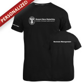 Russell Black Essential T Shirt-Business Management