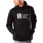Under Armour Black Armour Fleece Hoodie-Huntington Ingalls Industries