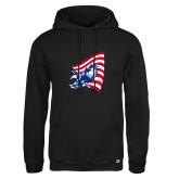 Russell DriPower Black Fleece Hoodie-NNS Flag