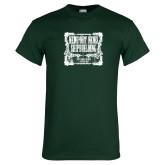 Dark Green T Shirt-NNS Vintage
