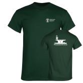 Dark Green T Shirt-Programs Division