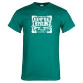 Teal T Shirt-NNS Vintage