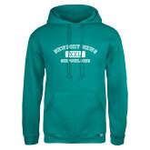 Russell DriPower Teal Fleece Hoodie-NNS College Design