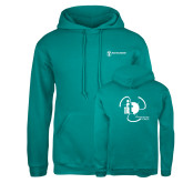 Russell DriPower Teal Fleece Hoodie-NNS IT