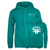 Russell DriPower Teal Fleece Hoodie-HR and A