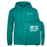 Russell DriPower Teal Fleece Hoodie-IPPC