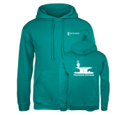 Russell DriPower Teal Fleece Hoodie-Programs Division
