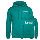 Russell DriPower Teal Fleece Hoodie-Legal