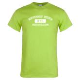 Lime Green T Shirt-NNS College Design