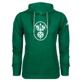 Adidas Climawarm Dark Green Team Issue Hoodie-Icon