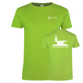 Ladies Lime Green T Shirt-Programs Division