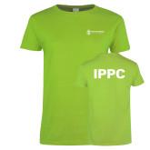 Ladies Lime Green T Shirt-IPPC