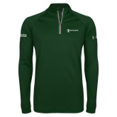 Under Armour Dark Green Tech 1/4 Zip Performance Shirt-Strategic Sourcing