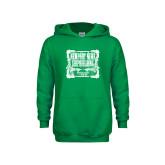 Youth Kelly Green Fleece Hoodie-NNS Vintage
