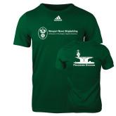 Adidas Dark Green Logo T Shirt-Programs Division