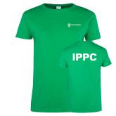 Ladies Kelly Green T Shirt-IPPC