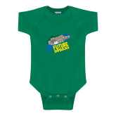 Kelly Green Infant Onesie-Future Shipbuilder Carrier Ship