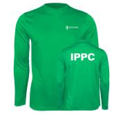 Performance Kelly Green Longsleeve Shirt-IPPC