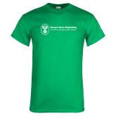 Kelly Green T Shirt-Newport News Shipbuilding