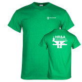 Kelly Green T Shirt-HR and A