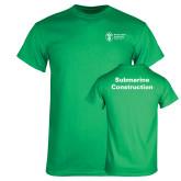 Kelly Green T Shirt-Submarine Construction