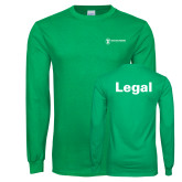Kelly Green Long Sleeve T Shirt-Legal