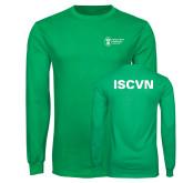 Kelly Green Long Sleeve T Shirt-ISCVN