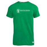 Russell Kelly Green Essential T Shirt-Newport News Shipbuilding