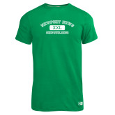 Russell Kelly Green Essential T Shirt-NNS College Design