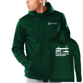 Under Armour Dark Green Armour Fleece Hoodie-IPPC