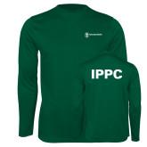 Performance Dark Green Longsleeve Shirt-IPPC