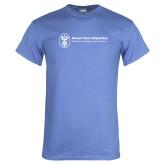 Arctic Blue T Shirt-Newport News Shipbuilding