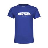 Youth Royal T Shirt-SSN 794