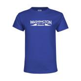 Youth Royal T Shirt-SSN 787