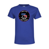 Youth Royal T Shirt-CVN 79