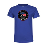 Youth Royal T Shirt-CVN 78