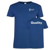 Ladies Royal T Shirt-Quality