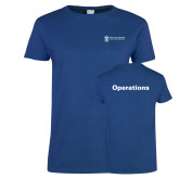 Ladies Royal T Shirt-Operations