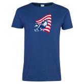 Ladies Royal T Shirt-NNS Flag