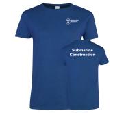Ladies Royal T Shirt-Submarine Construction