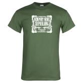 Military Green T Shirt-NNS Vintage
