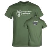 Military Green T Shirt-ISCVN