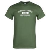 Military Green T Shirt-NNS College Design