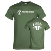 Military Green T Shirt-HR and A