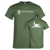 Military Green T Shirt-Programs Division