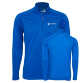 Syntrel Royal Blue Interlock 1/4 Zip-Business Management