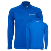 Syntrel Royal Blue Interlock 1/4 Zip-Manufacturing and Material Distribution