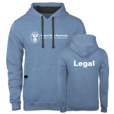 Contemporary Sofspun Carolina Heather Hoodie-Legal