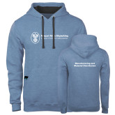 Contemporary Sofspun Carolina Heather Hoodie-Manufacturing and Material Distribution