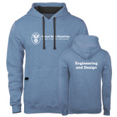 Contemporary Sofspun Carolina Heather Hoodie-Engineering and Design